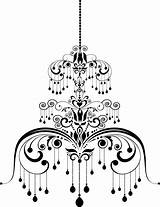 Chandelier Illustration Vector Coloring Template Pattern Depositphotos Vectors Royalty Pages Sketch sketch template