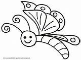 Coloring Butterfly Pages Odd Dr sketch template