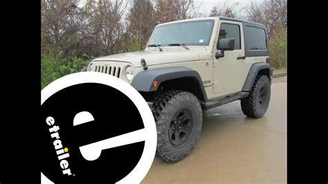 Install Trailer Wiring Jeep Wrangler