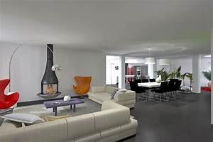 Extension contemporaine vignoble Champenois architecte intérieur Avous