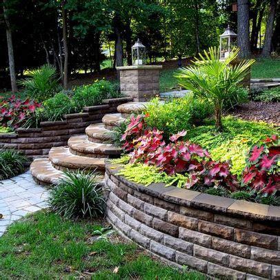 hilly backyard landscaping ideas google search garden