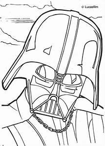 DARTH VADER coloring pages - Darth Vader mask