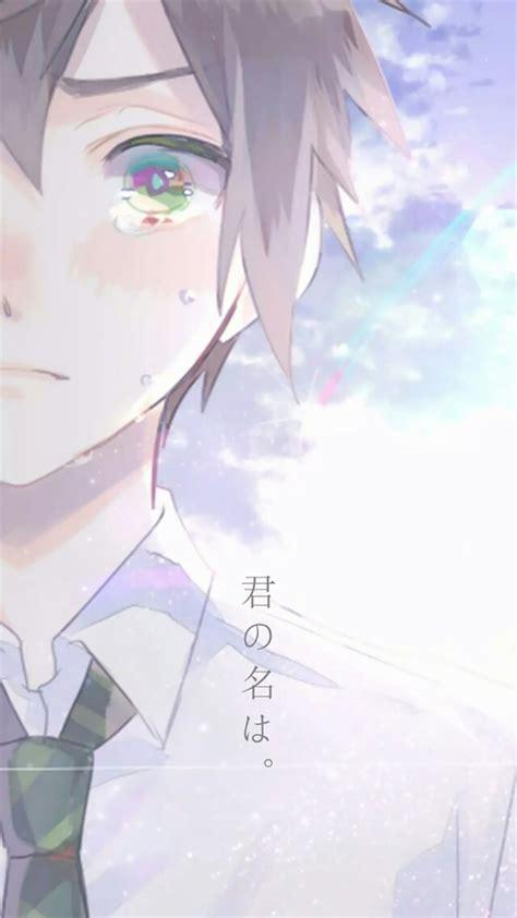 Anime Couple Terpisah Kimi No Nawa 你的名字 一左一右情侣头像唯美手机壁纸图片下载 动漫 壁纸下载 美桌网