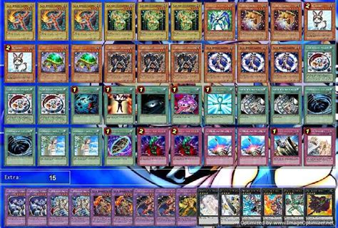elemental deck recipe yugioh deck recipes