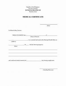 formatted medical certificate template With medical certificates templates