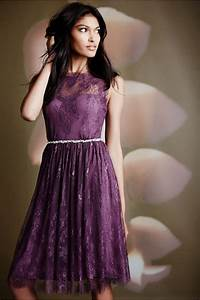 vintage purple short bridesmaid dresses 2016 simple o neck With purple dress for wedding guest