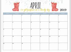April 2019 Calendar Latest Calendar