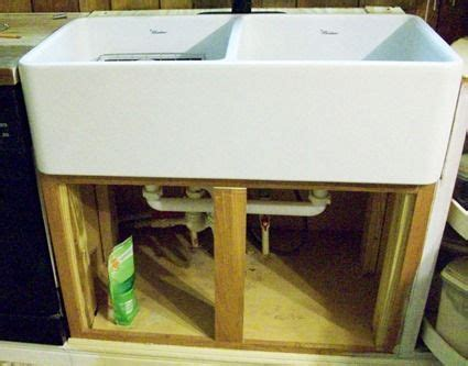 how to install a farm sink installing a farmhouse sink cottage love pinterest