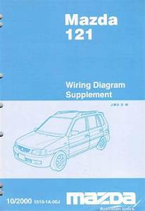 Mazda 121  Dw  10  2000 Factory Wiring Diagram Manual