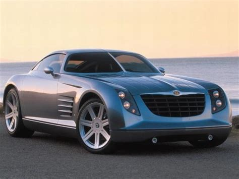 Front Right Chrysler Crossfire Concept Car Photo