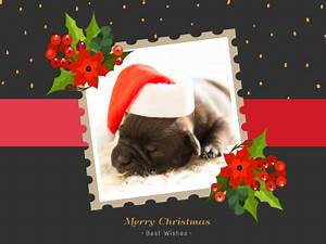 Merry Christmas Fotor Photo Cards Free Online Photo