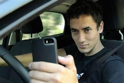 Selfie While Behind Driving Driver Wheel Selfies