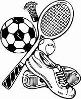 Sports Coloring Version Via sketch template