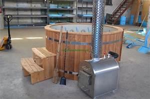 badefasser badefass badezuber hottub badefass mit With französischer balkon mit badezuber für den garten