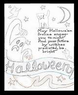 Halloween Outhouse Coloring Adult Children Template Activities Moon Printable sketch template