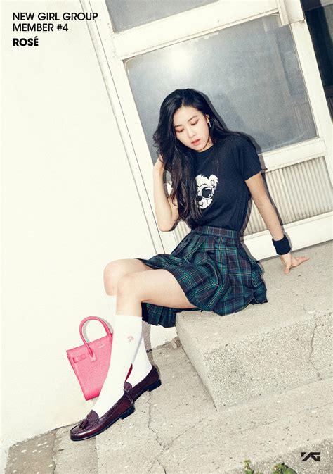 yg reveals teasers   girl group member rose soompi