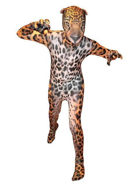 Morphsuit Kids Jaguar Full Body Costume