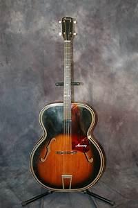 Harmony 1956 Archtop Tenor Guitar Pro Setup Softshell Case