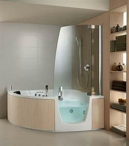 Badezimmer Mit Eckbadewanne : badewanne mit t r aktuelle vorschl ge ~ Bigdaddyawards.com Haus und Dekorationen