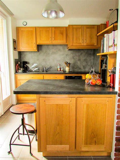 vernis table cuisine vernis plan de travail cuisine gallery of cuisine bois