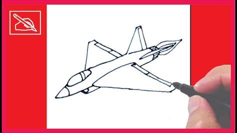 como dibujar  avion de guerra   draw  fighting jet dibujando youtube