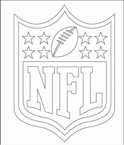 Coloring Pages Nfl Football League Teams National