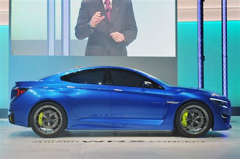 Subaru Wrx Concept New York 2018 Photo Gallery Autoblog