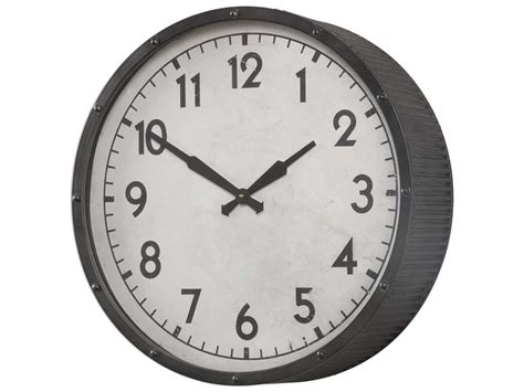 Uttermost Berta Ivory Wall Clock