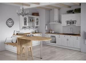 cuisine gris vert blanc With cuisine modà les déco
