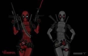 Lady Deadpool 2V - X-force by PHOENIX8341 on DeviantArt
