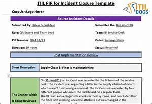 enchanting post implementation review template elaboration With post implementation plan template