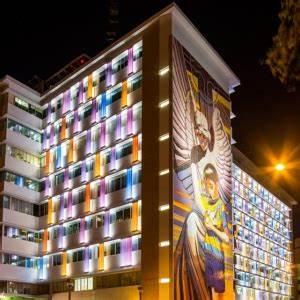 Color U profile glass for curtain wall, 7mm colorful U ...