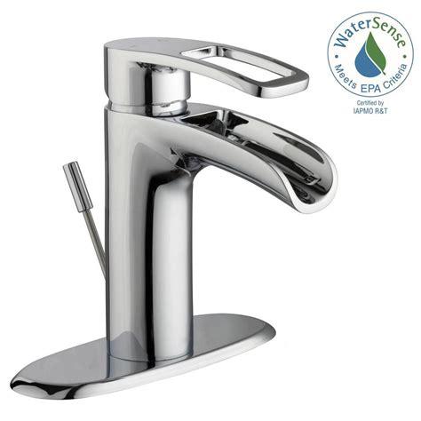 Glacier Bay Bathroom Sink Faucets by Glacier Bay Kiso 4 In Centerset Single Handle Low Arc
