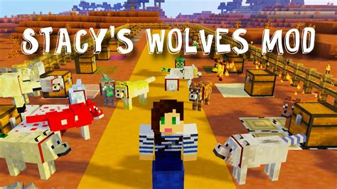 stacys wolves mod showcase youtube