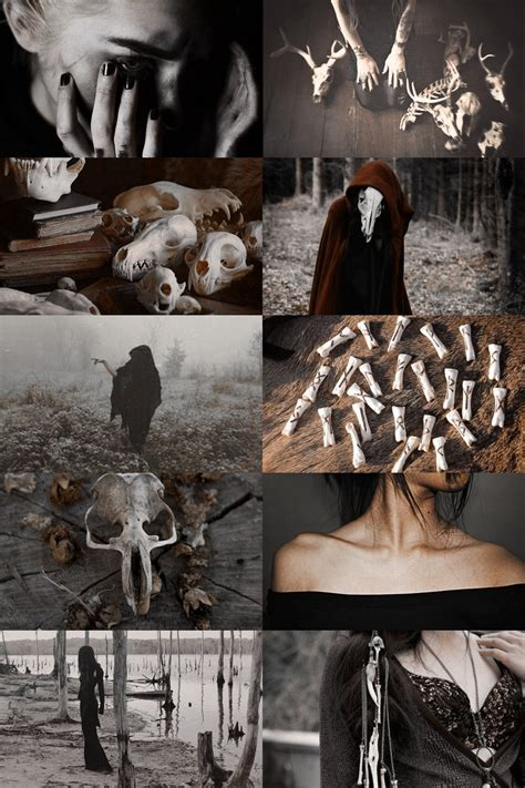 bone witch aesthetic (more here)   Magic   Pinterest   Witches
