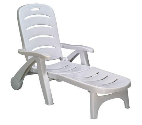 chaise blanc chaise longue plastique blanc chaise idées de