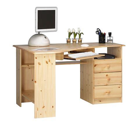 bureau d angle en pin bureau enfant pin massif 3 tiroirs alex prix et offres