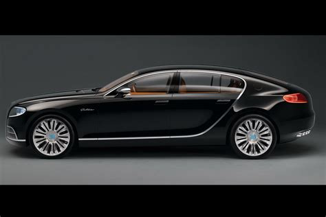 Bugatti 16c Galibier Concept In Black Photo Gallery
