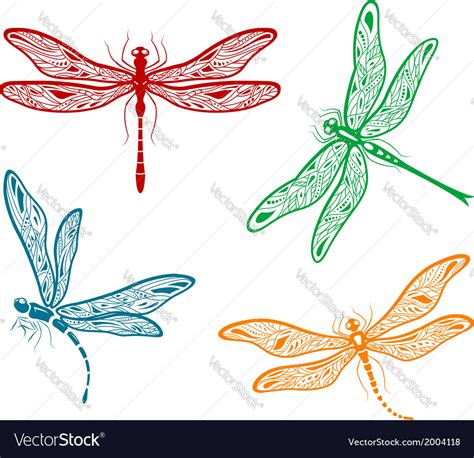 pretty dragonfly clipart pretty dainty dragonfly designs royalty free vector image