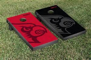 Louisville Cardinals Cornhole Designs