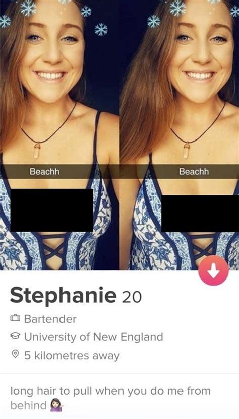 shameless slutty tinder profiles