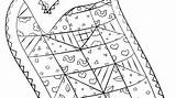 Coloring Sheets Quilt Quilting Quilts Imgcc Colouring Activities Stewart sketch template