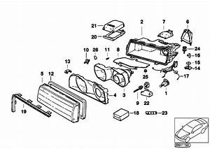 Original Parts For E38 735il M62 Sedan    Lighting   Indiv