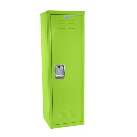 "Kids Green Locker for Mudroom or Playroom 15""d x 15""w x 48""h"