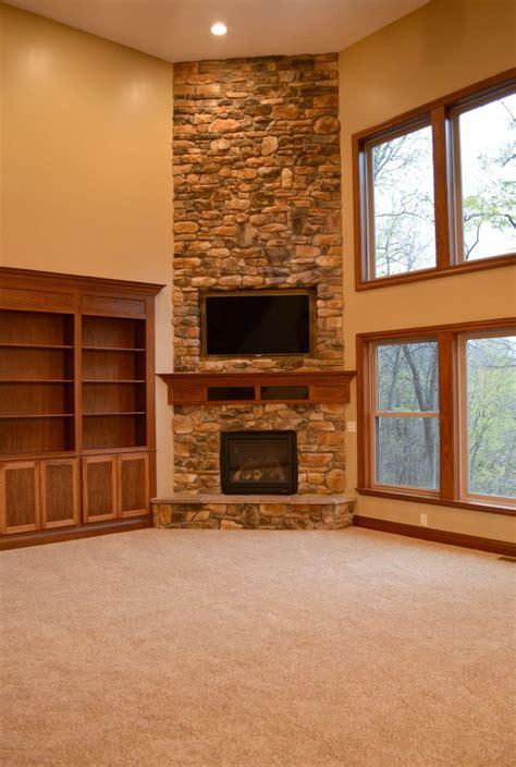 Kamin In Ecke by Floor To Ceiling Corner Fireplace Corner Fireplace