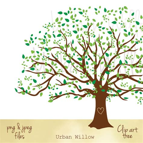 Family Tree Clip Larger Clipart Family Tree Pencil And In Color Larger