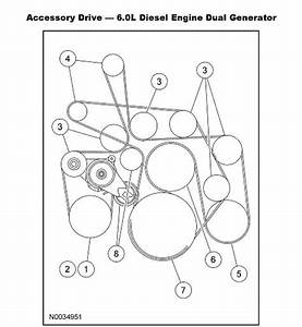 Ford F 250 Serpentine Belt Diagram