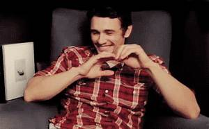 James Franco Love GIF - Find & Share on GIPHY