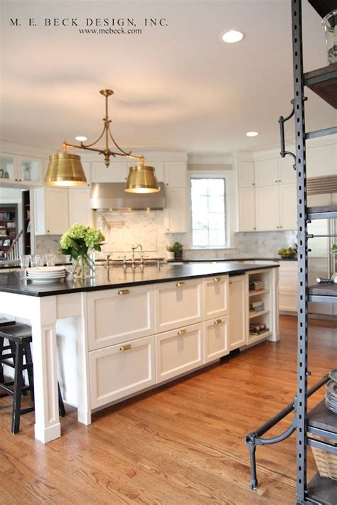 Kitchen Designed Comfort by M E Beck Design Kitchen With Sloane Island Light In