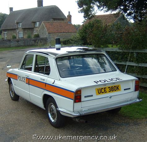Uce 380k Here Is A Classic Triumph Toledo Police Car